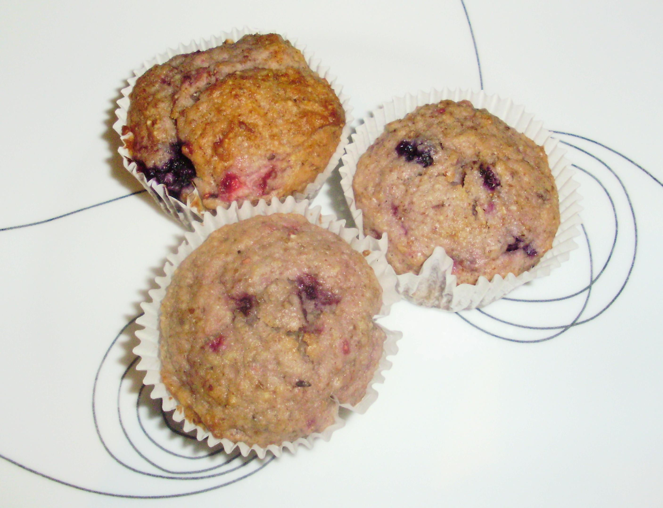 muffin fruits des champs