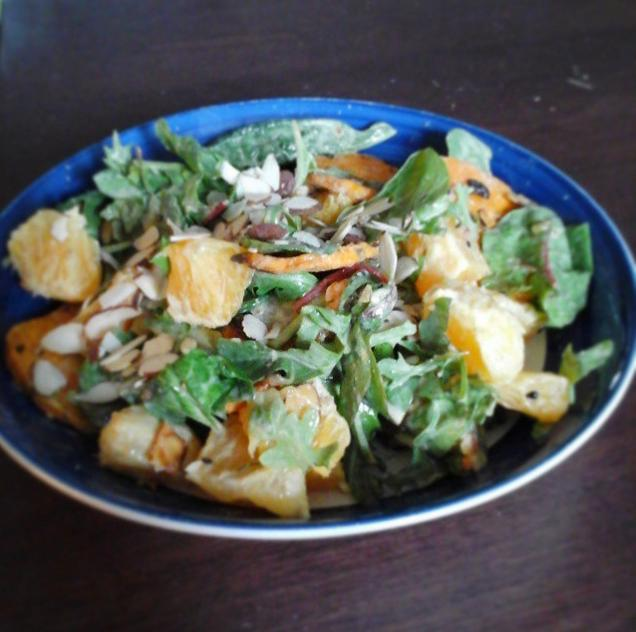 salade-patate-orange