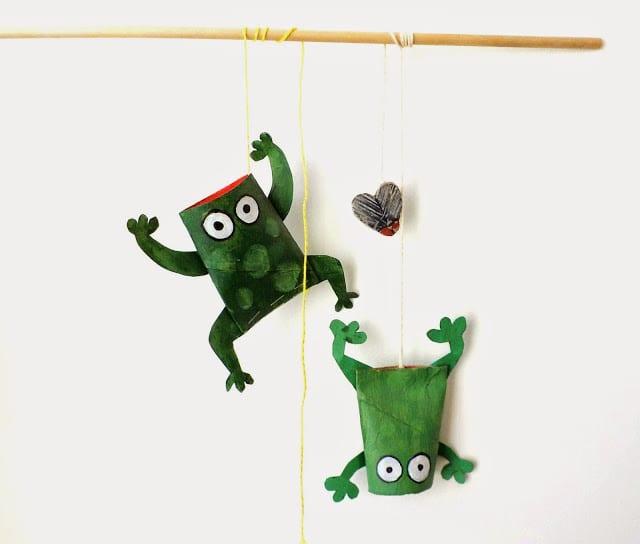 20 bricolages avec des rouleaux de papier de toilette - Objet avec rouleau papier toilette ...