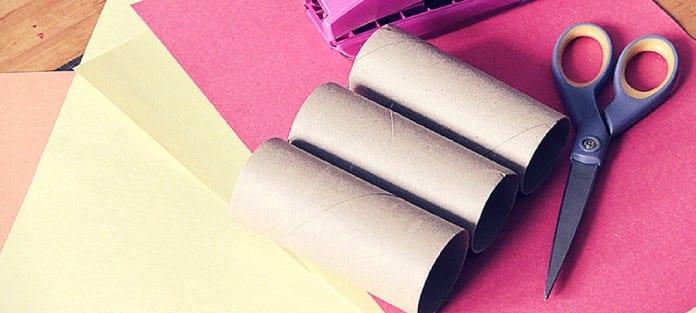 20 bricolages avec des rouleaux de papier de toilette marginale et heureuse. Black Bedroom Furniture Sets. Home Design Ideas