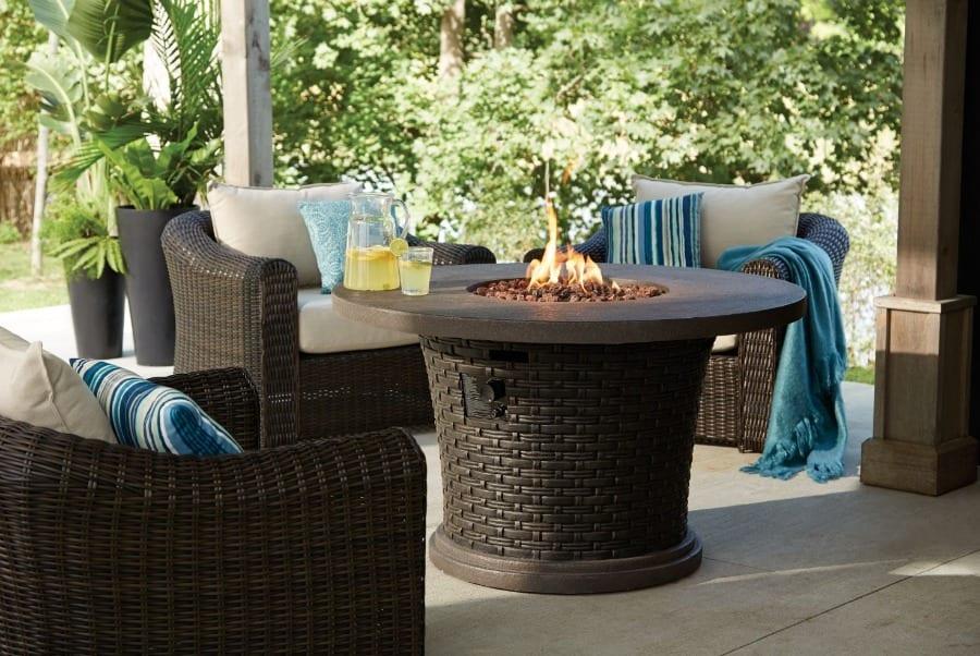 Terrasses de r ve pour petits espaces marginale et heureuse for Foyer exterieur au gaz