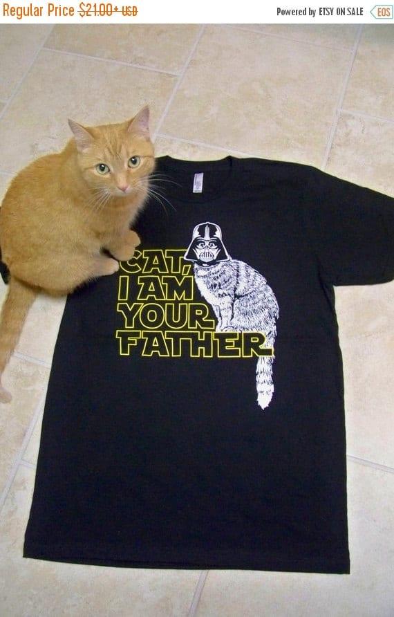 T-shirt pour l'homme qui aime les chats.