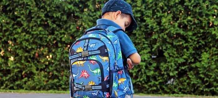 pottery barn kids sac d'école