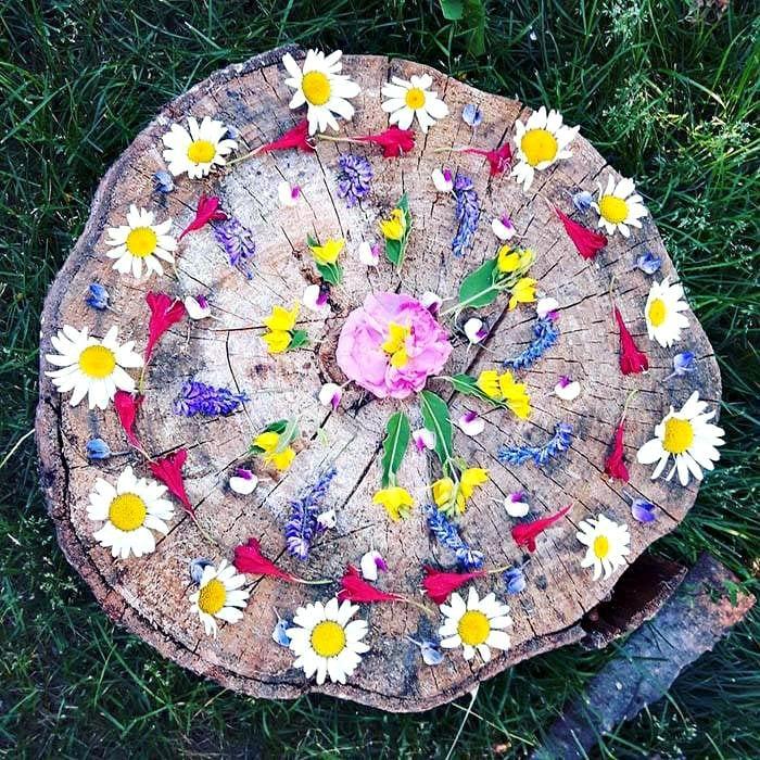 Mandalas fleur
