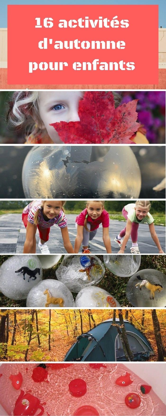 16 activités d'automne pour enfants à moins de 10$, Blogue Marginale et Heureuse