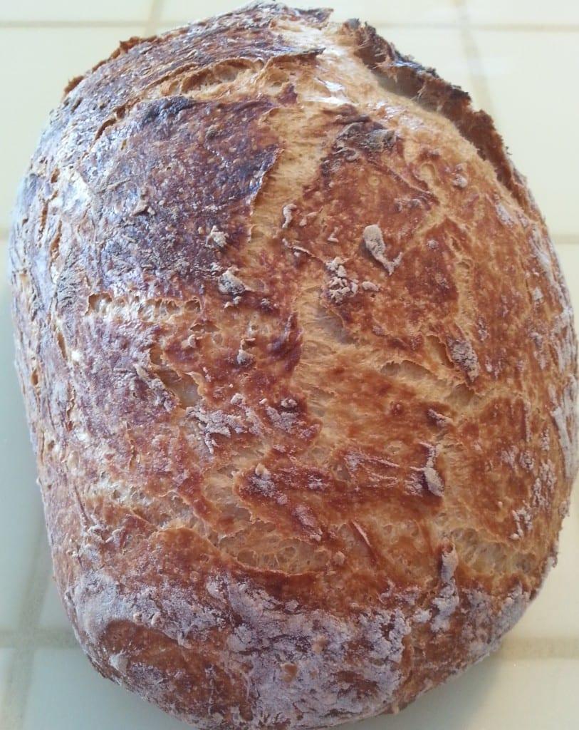 pain maison cuit en cocotte