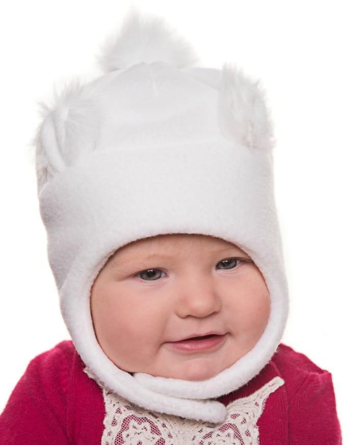 Tuque avec oreilles d'ours et fourrure blanche (Photo: Tirigolo.com)