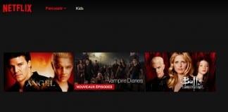 séries télé de vampires