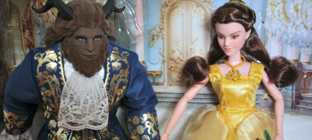 La Belle et la Bête jouets