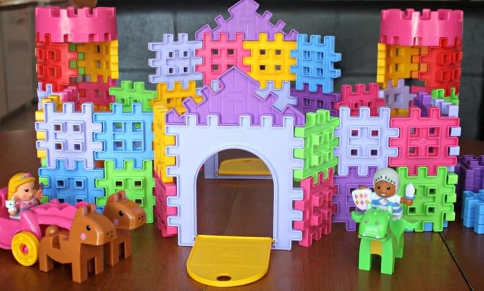 Chateau Waffle blocks