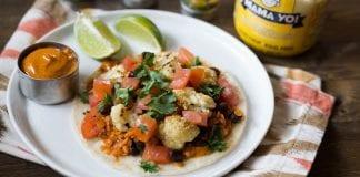 taco végétarien