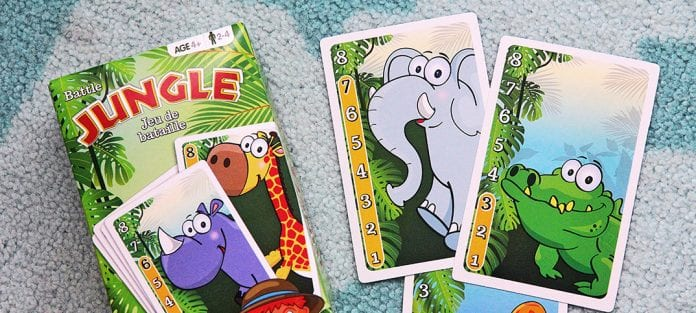 jeu jungle bataille
