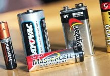 recycler les batteries