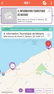 application de planification de voyage Mytrips