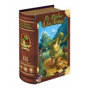 Jeux de société pour apprendre: Le lièvre et la tortue Asmodee