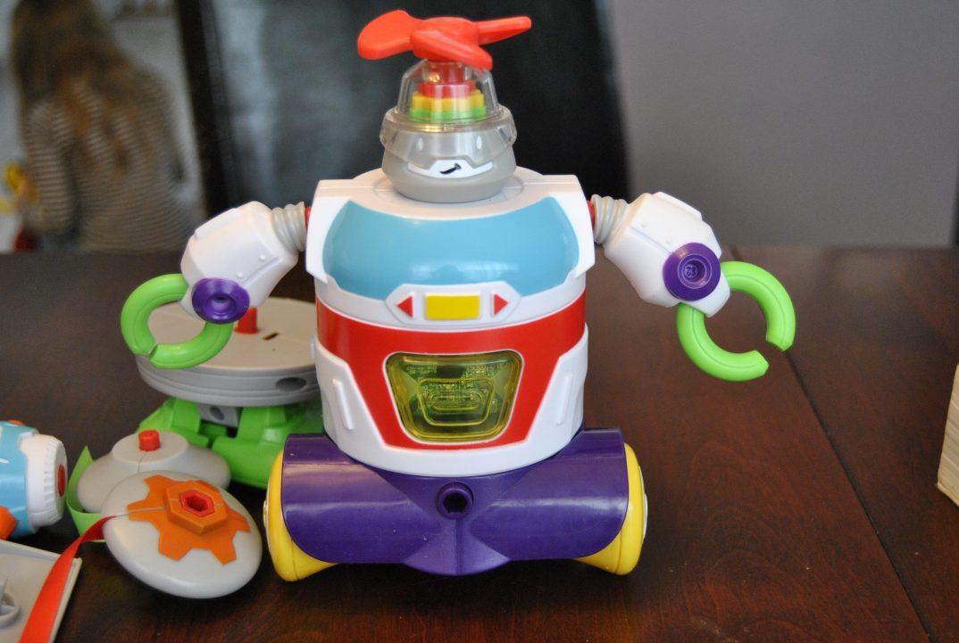 robot à construire de Little Tikes
