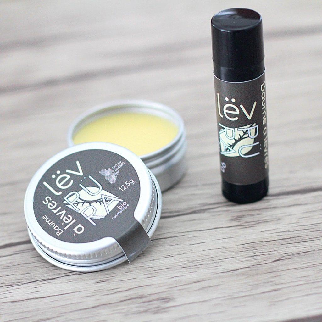 baume à lèvres fait au Québec Püra biocosmétique