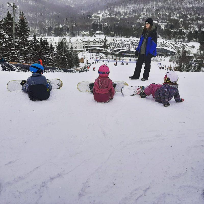 Initiation au snowboard